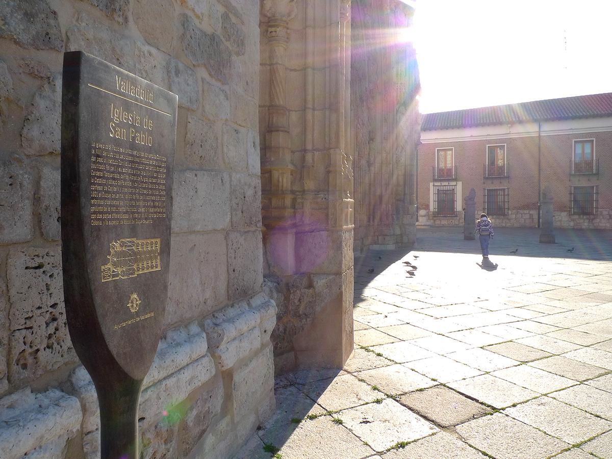 SEÑALIZACION MONUMENTOS VALLADOLID 03