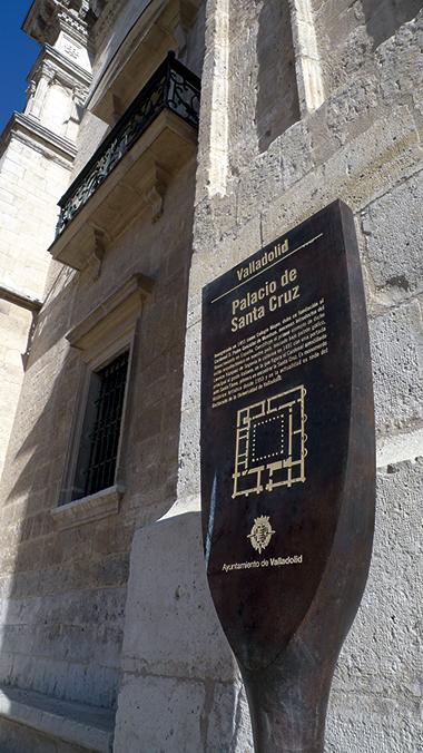 SEÑALIZACION MONUMENTOS VALLADOLID 07