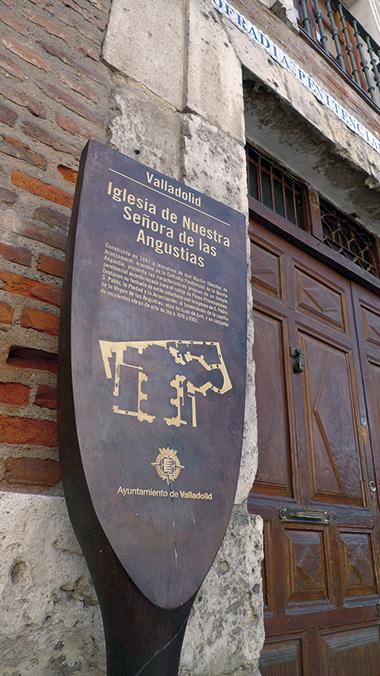 SEÑALIZACION MONUMENTOS VALLADOLID 08